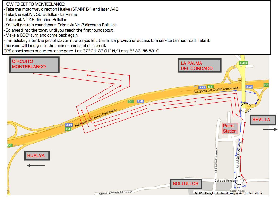 Circuito Monteblanco : Eybis enjoy your bike in safety